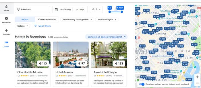 Google Hotel Zoeken Vergelijken En Boeken Van Hotels