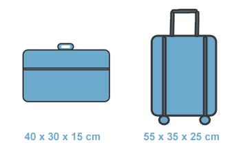KLM handbagage