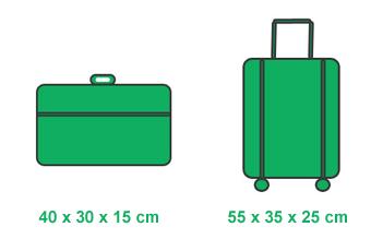 Transavia handbagage